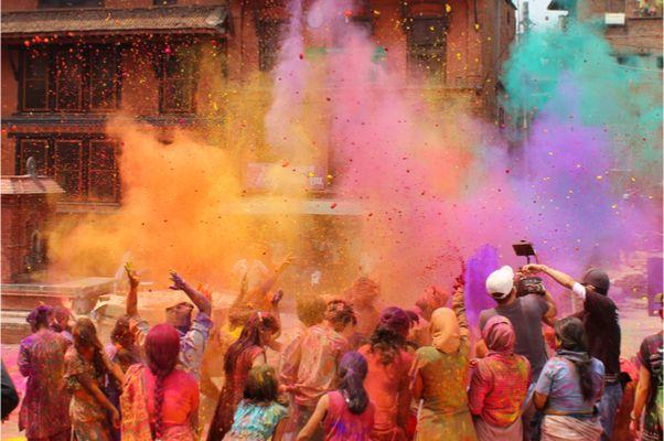 Holi Festival in Indien & optionaler Badeurlaub Sri Lanka