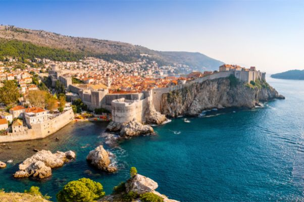 Dubrovnik im April