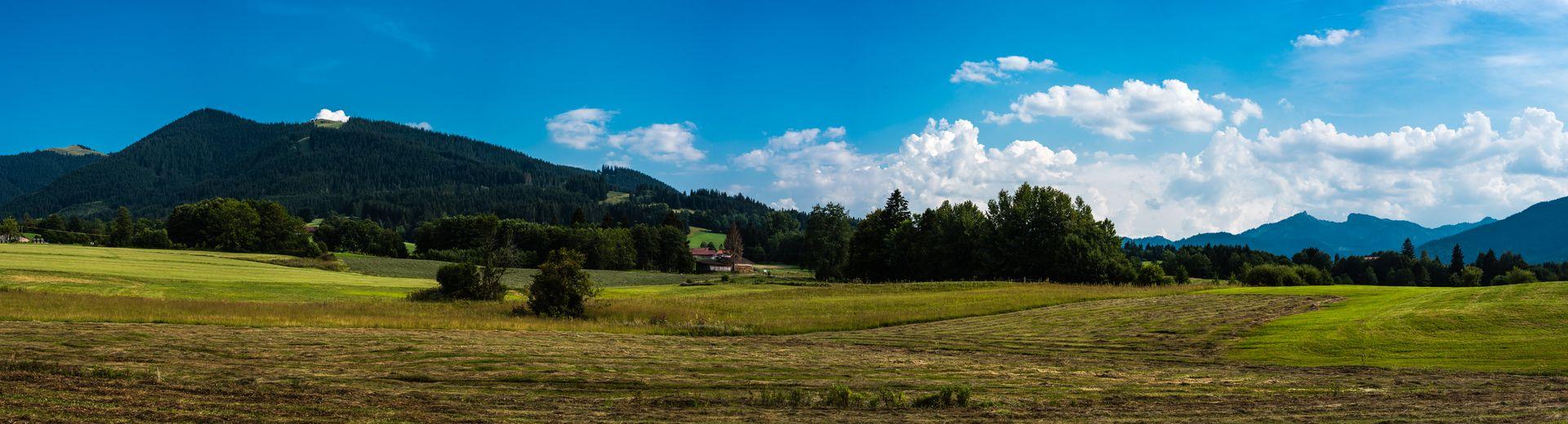 Herbstferien in den Ammergauer Alpen
