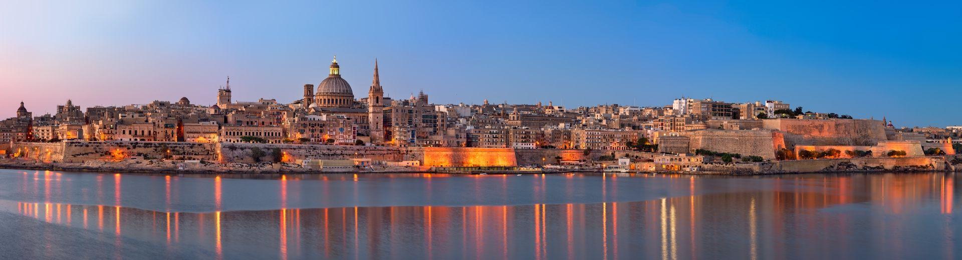Luxuskreuzfahrt: Mittelmeer mit Malta und Italien