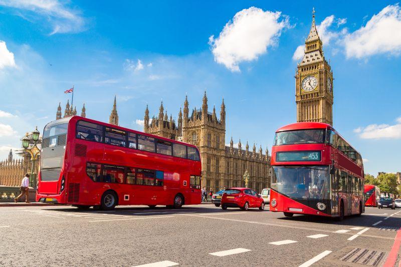 Pfingstwochenende in London