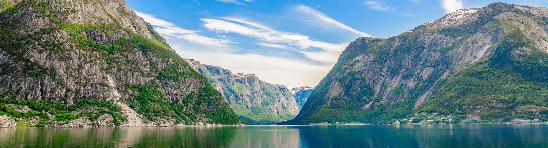 Mit AIDAsol zu den Fjorden Norwegens
