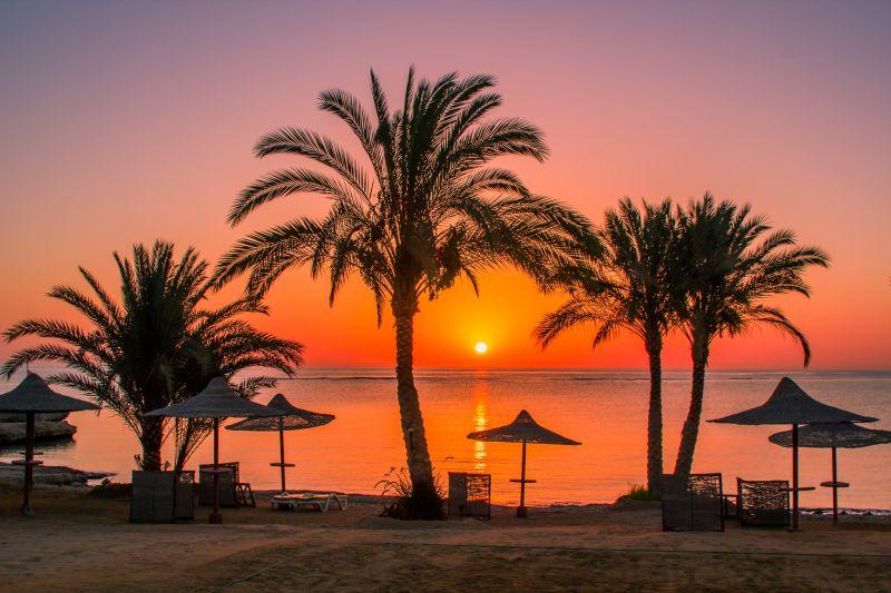 Strandurlaub in Ägypten