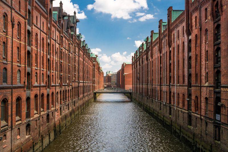 In Hamburg in den Mai