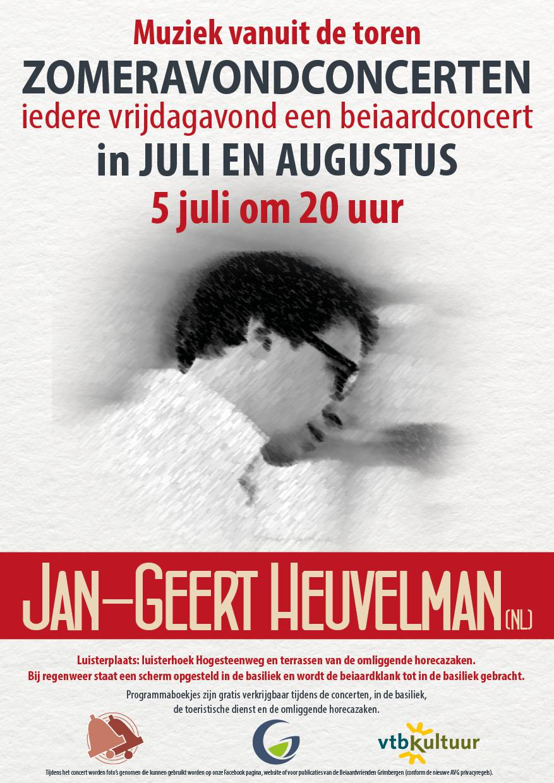 Zomeravondconcert - Jan-Geert Heuvelman (NL)
