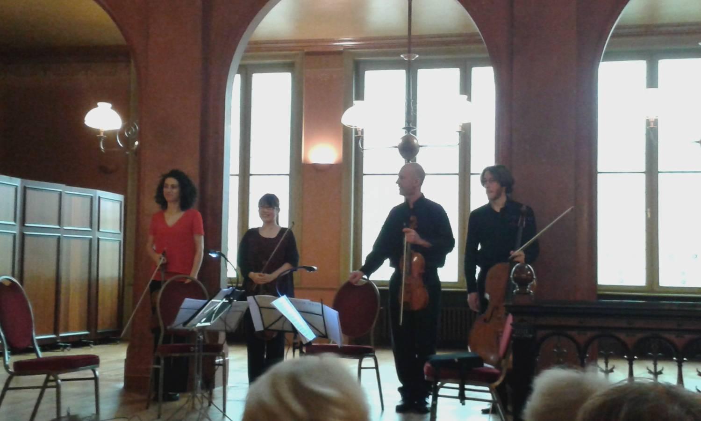 Concertino van de Munt in de Solvay bibliotheek