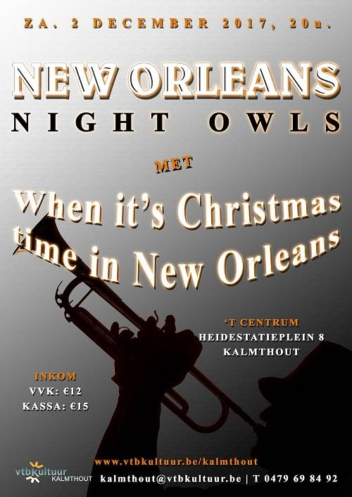 JAZZ : WHEN IT'S CHRISTMAS TIME IN NEW ORLEANS