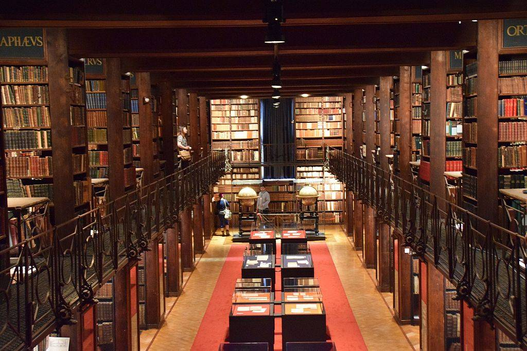 Nottebohmzaal en bibliotheek