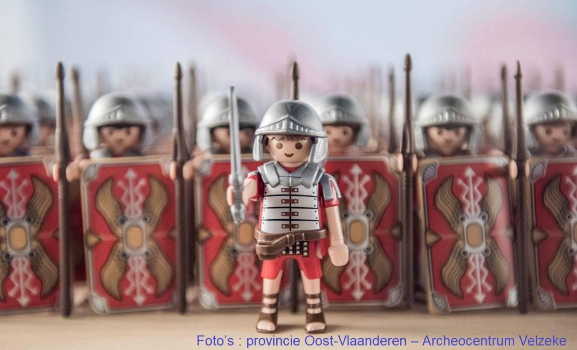Op stap in de voetsporen van Julius Caesar en Jan De Lichte.