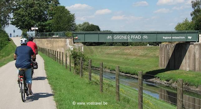 (Fietsen langs de) Rijn & Ruhr