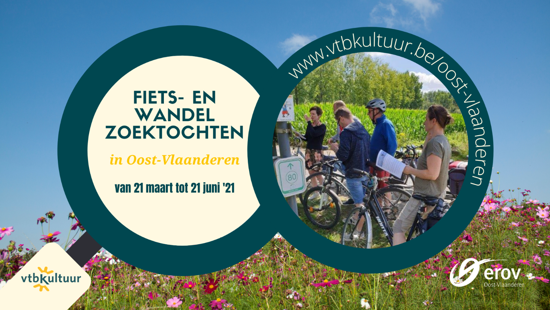 Trek je wandelschoenen aan of maak je fiets rijklaar voor een leuke dag in Oost-Vlaanderen