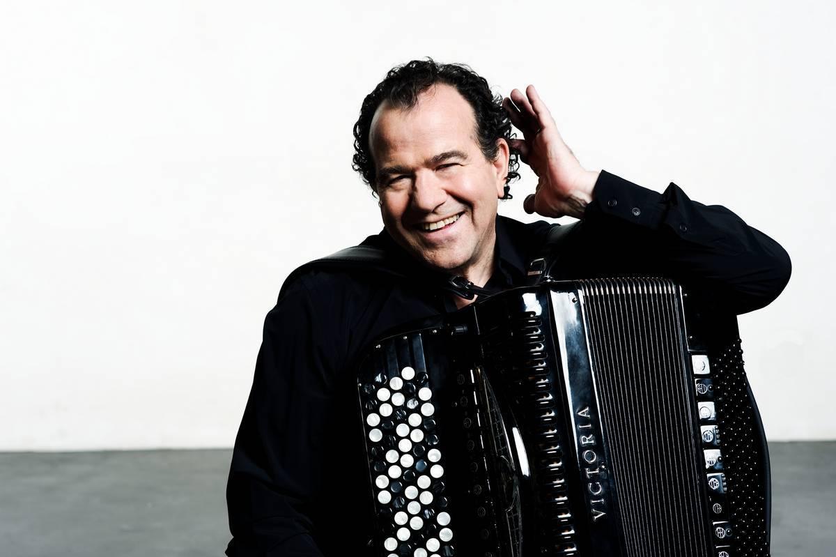 Antwerp Symphony Orchestra, Latino belevenis met Richard Galliano Elisabethzaal.
