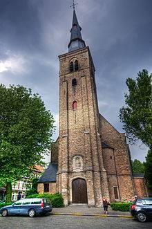Bezoek aan het St. Annakwartier in Brugge