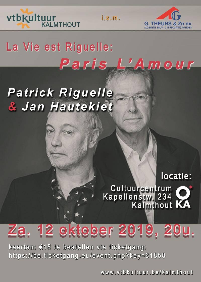La vie est RIguelle- Paris L'Amour