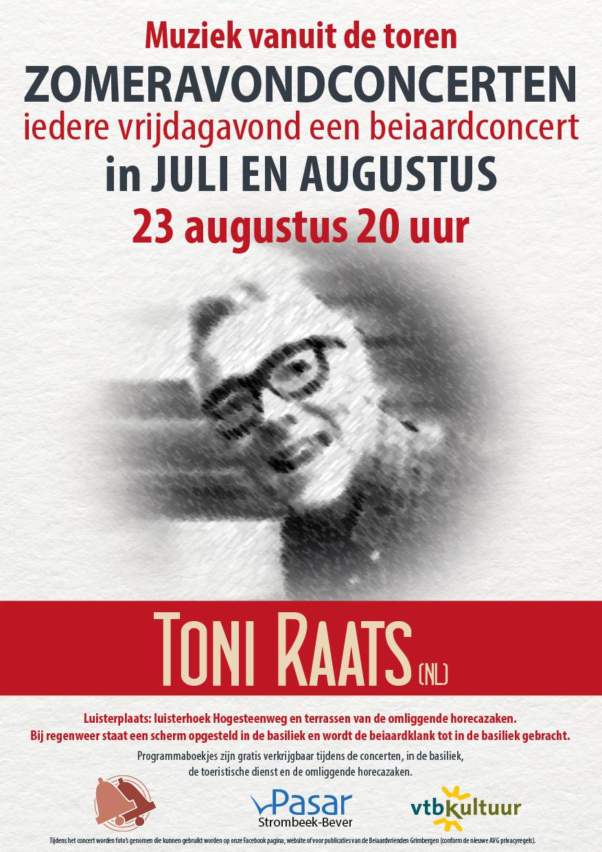 Zomeravondconcert - Toni Raats (NL)
