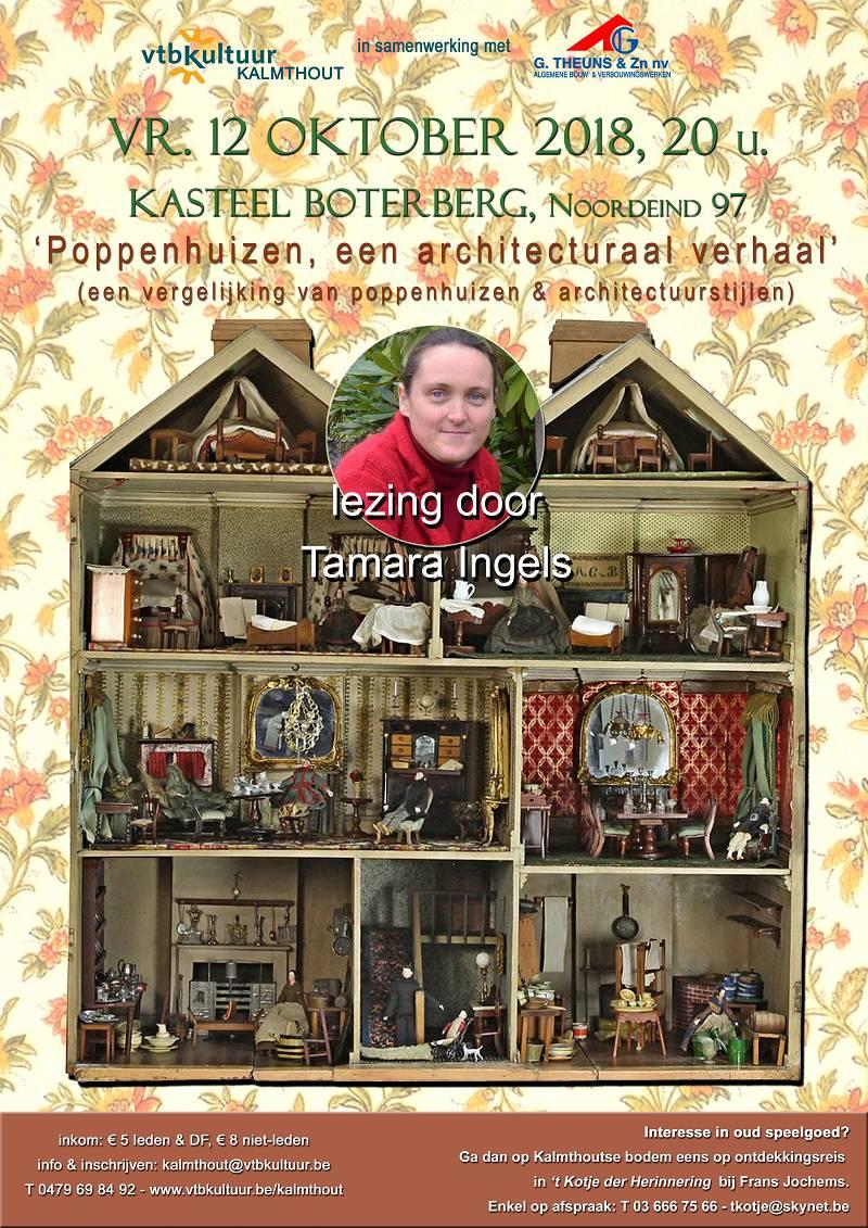 POPPENHUIZEN, EEN ARCHITECTURAAL VERHAAL, lezing van Tamara Ingels