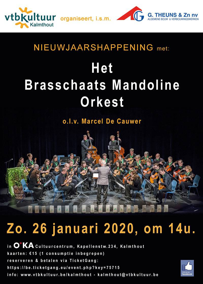 Nieuwjaarshappening :Brasschaats Mandoline Orkest