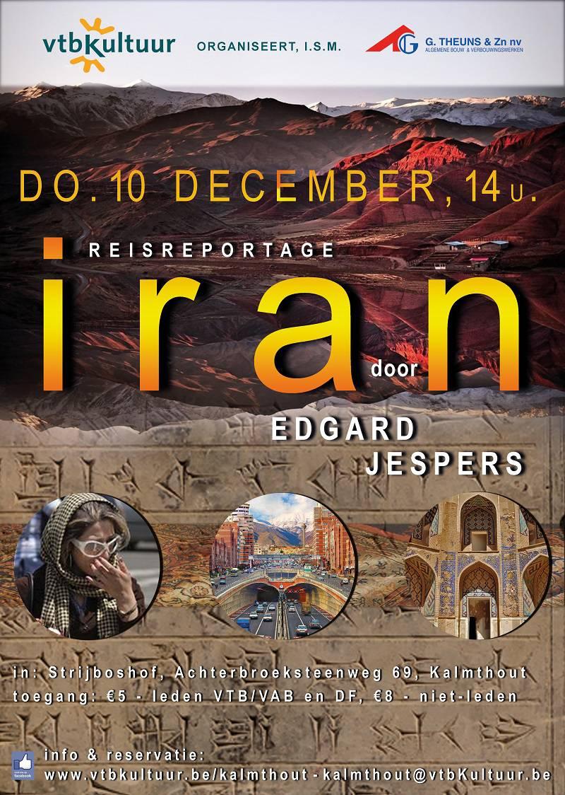 IRAN , Reisreportage  door Edgard Jespers
