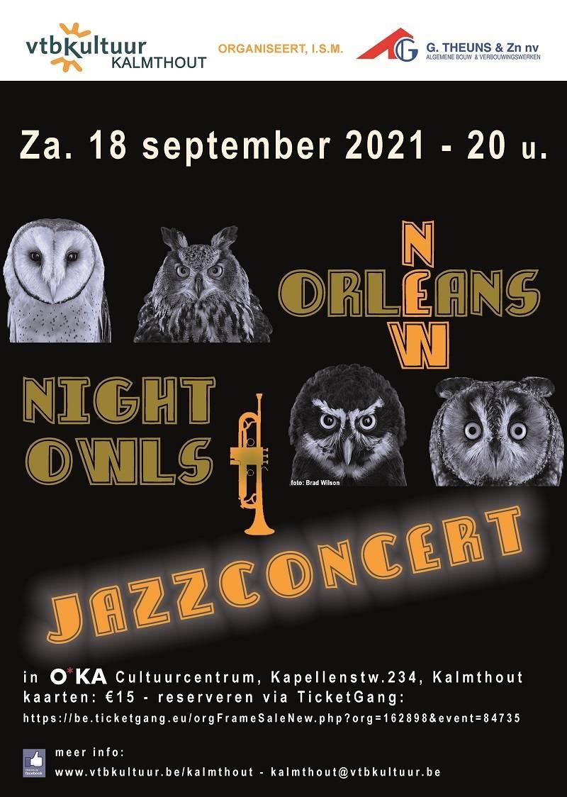 Jazz avond : THE NEW ORLEANS NIGHT OWLS
