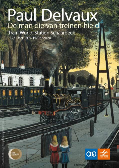 Train World & Paul Delvaux - VOLZET