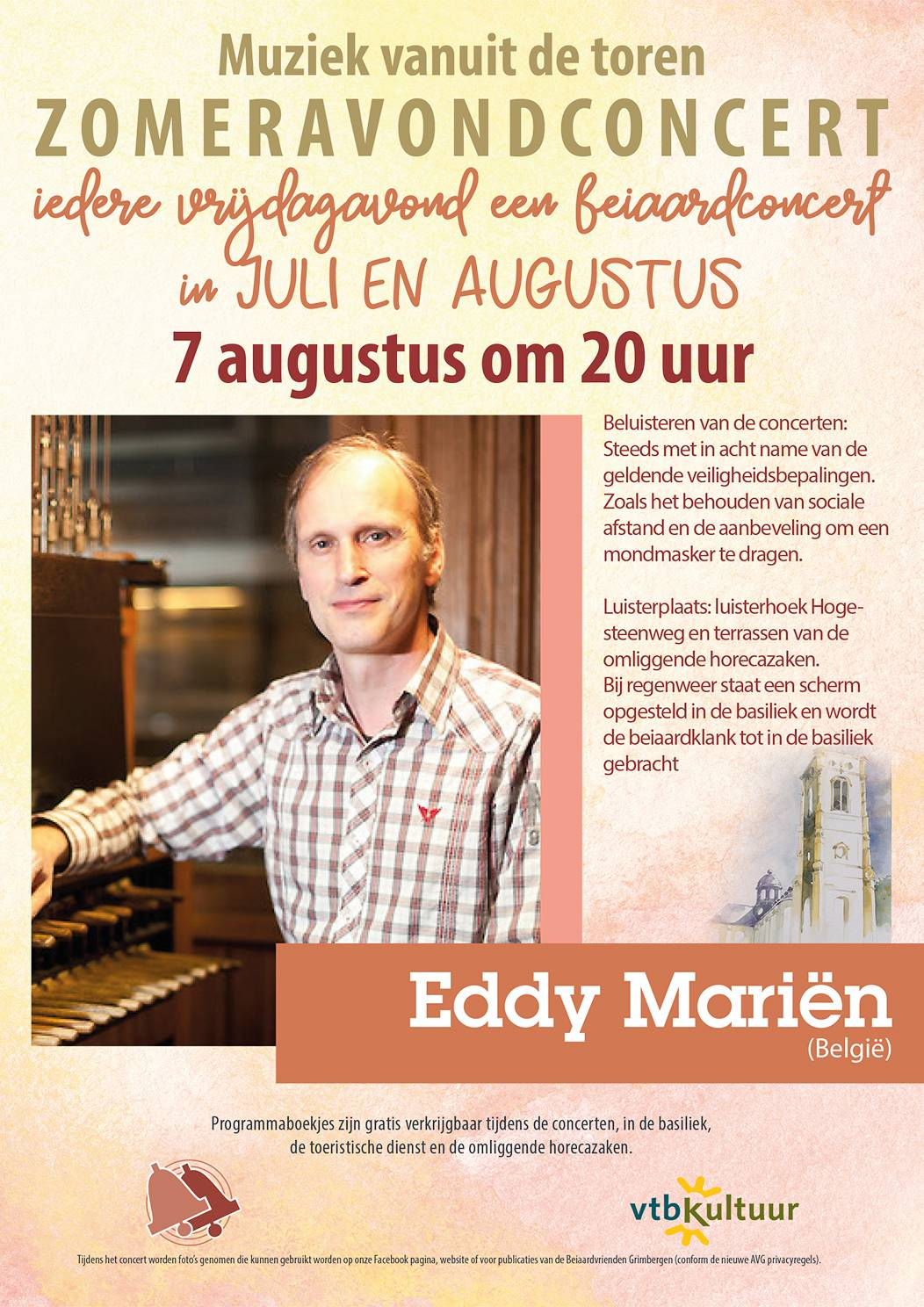 Zomeravondconcerten - Eddy Mariën (B)