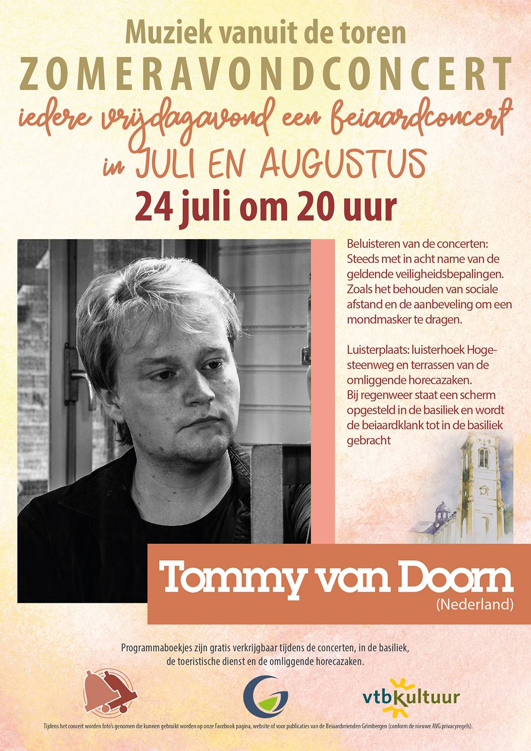 Zomeravondconcerten - Tommy van Doorn (NL)