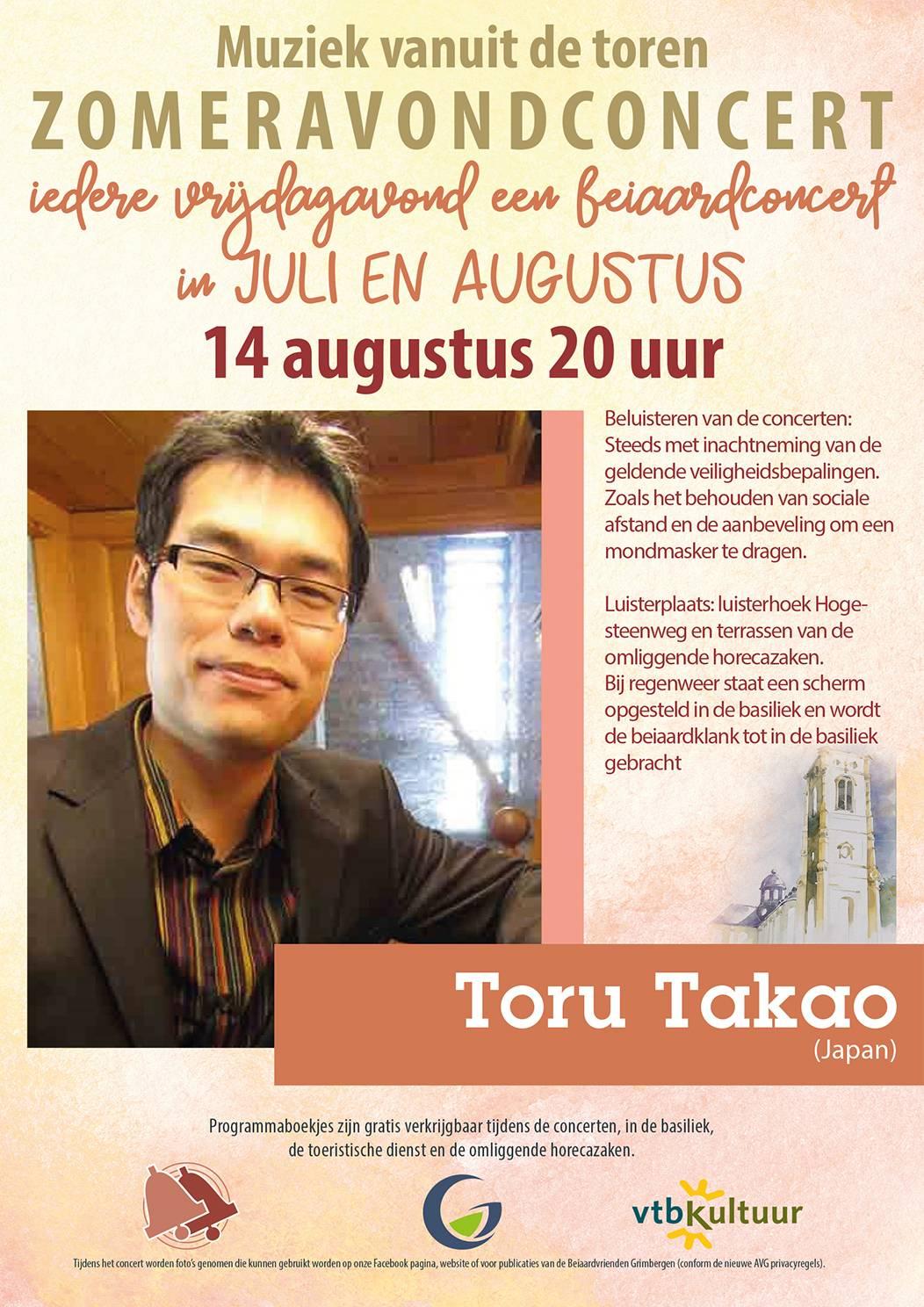 Zomeravondconcerten - Toru Takao (Japan)