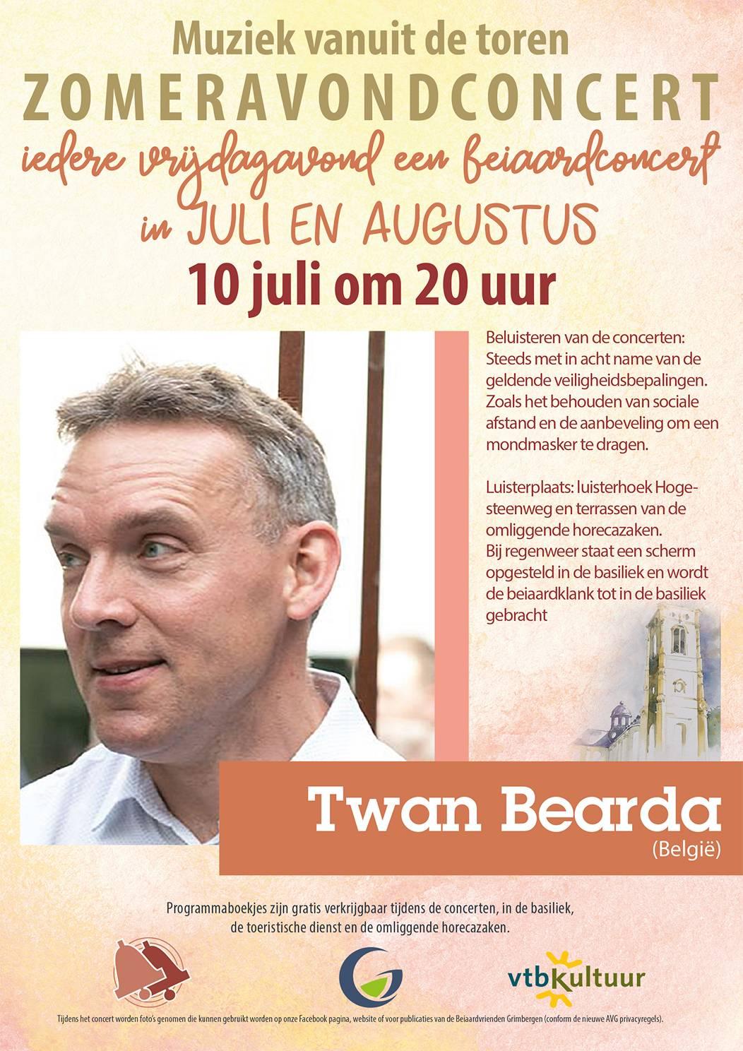 Zomeravondconcerten - Twan Bearda