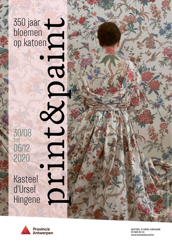 Print&Paint - 350 jaar bloemen op katoen