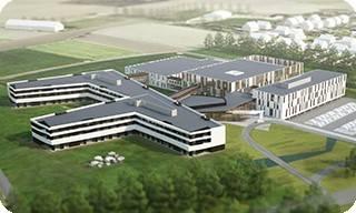 Bezoek aan het nieuwe ziekenhuis van Maaseik