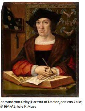 Brussel en de Renaissance, Bernard van Orley. De weg naar Bruegel