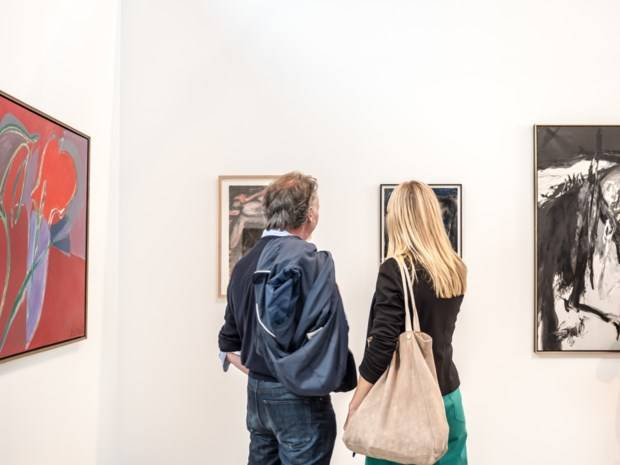 Brussel Gallery Weekend, gegidst bezoek