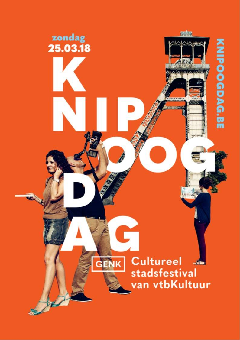 KnipoogDag in C-mine Genk