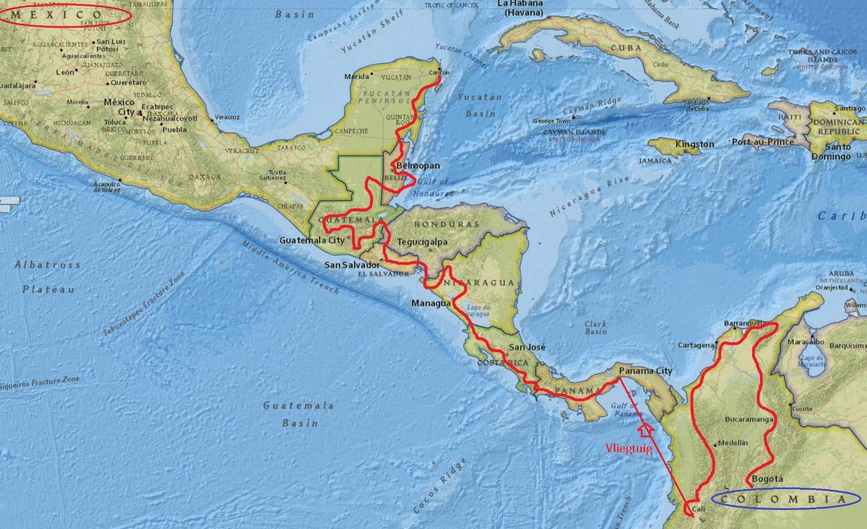 Reisimpressie: Dwars door Centraal-Amerika