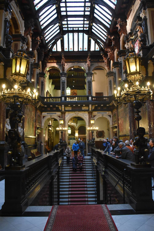 bezoek stadhuis van Antwerpen