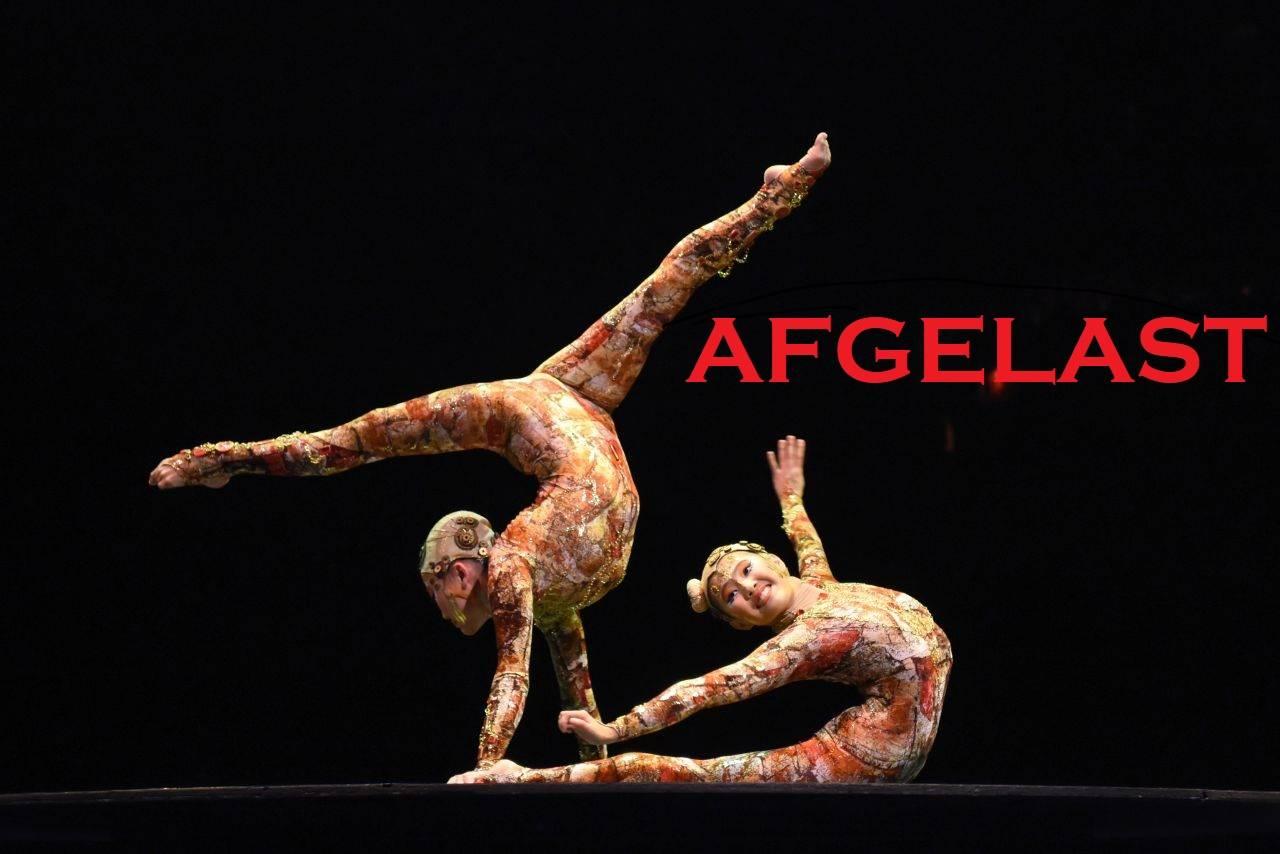 AFGELAST - KOOZA - Cirque du Soleil