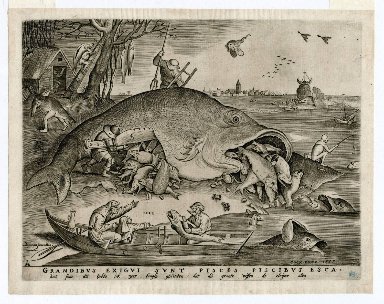 De wereld van Bruegel in zwart en wit