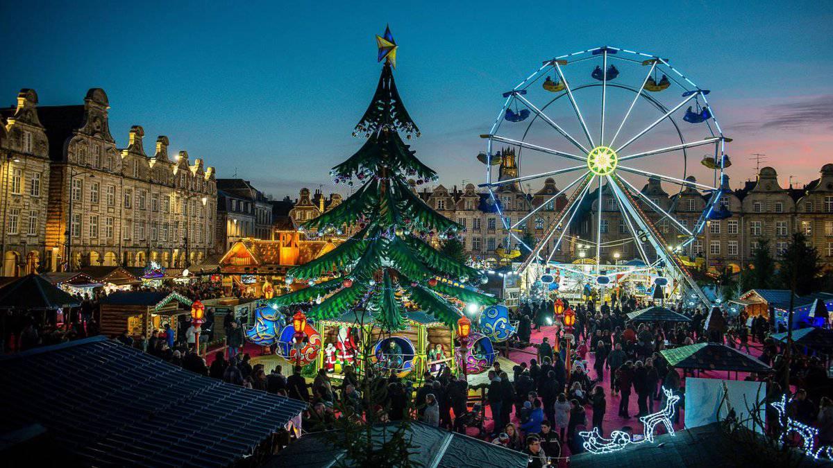 Autocaruitstap Kerstmarkt in Arras