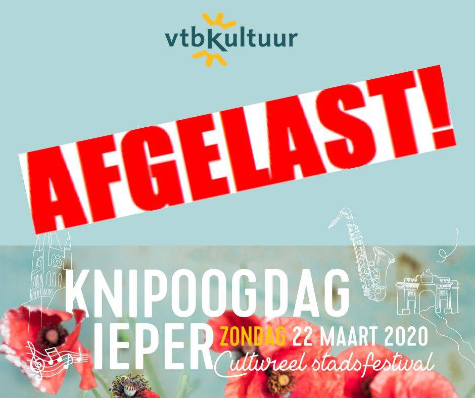 !!!   KNIPOOGDAG WORDT AFGELAST   !!!