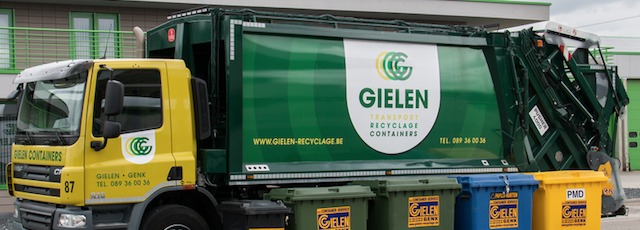 Bedrijfsbezoek GIELEN NV Transport-Recyclage-Containers