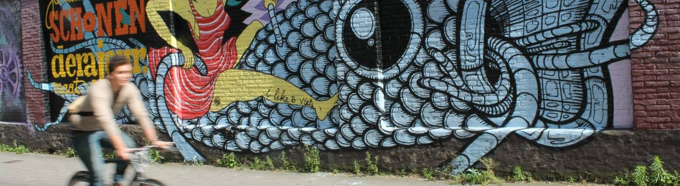 Graffitiwandeling te Gent