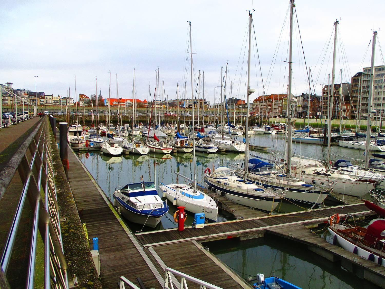 West Blankenberge en de haven