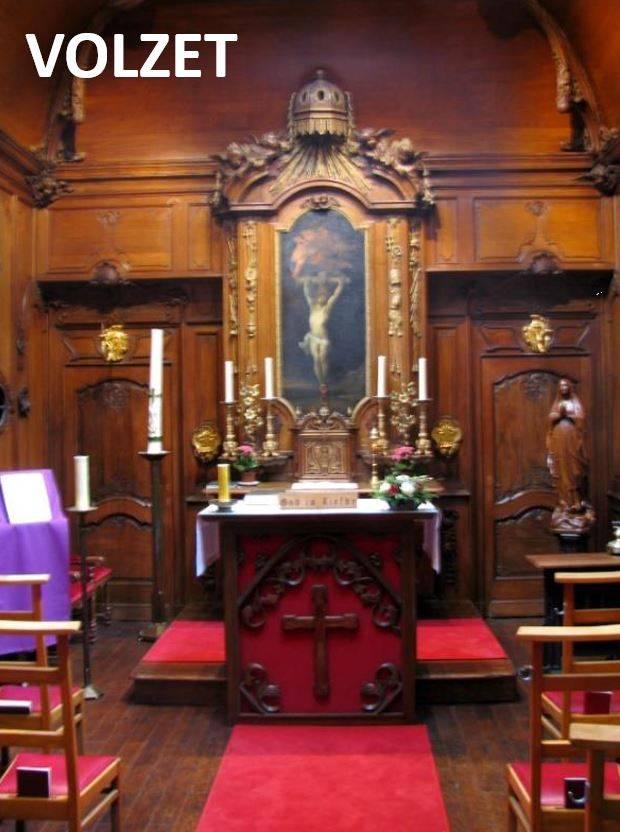 Bezoek aan de gerestaureerde Della Faille kapel