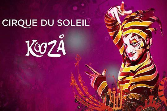 Cirque du Soleil: Koozá, een hommage aan het traditionele circus, met comfortabel autocarvervoer