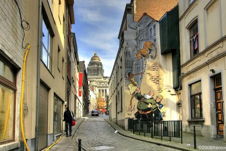 Wandeling in de Marollen, Brussel
