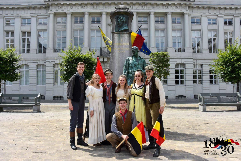 1830 - het ontstaan van België in een musical