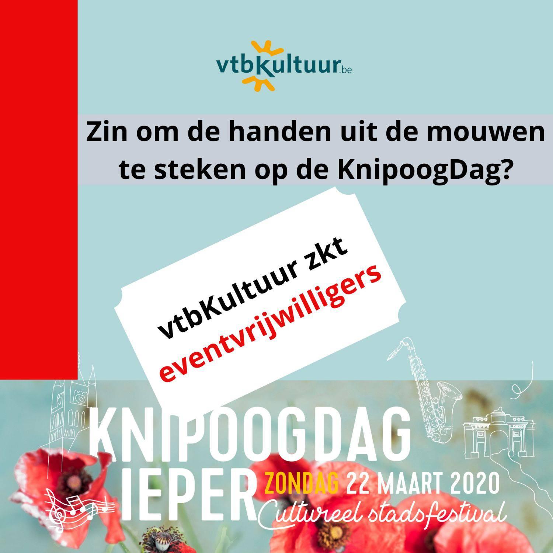 Eventvrijwilligers gezocht voor de KnipoogDag 2020!
