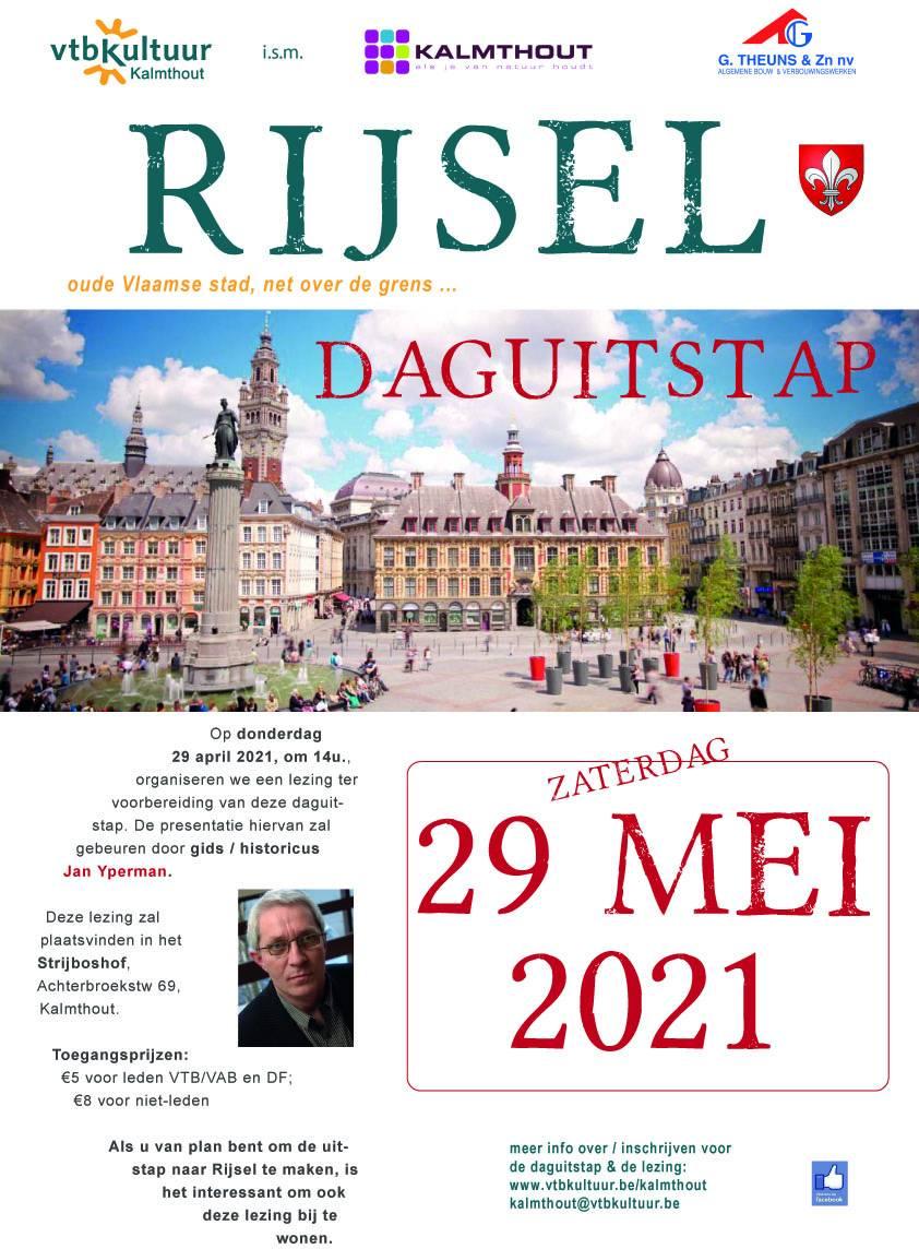 Daguitstap : Rijsel met gids Jan Yperman