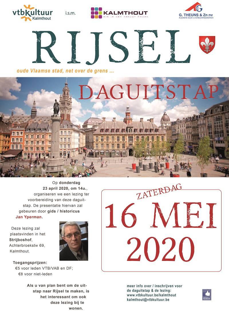 Lezing en daguitstap : Rijsel met Jan Yperman