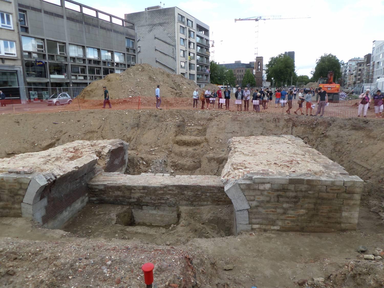 ARCHEOLOGISCHE SITE RODE POORT ANTWERPEN